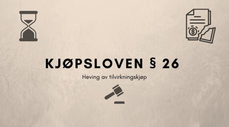Kjøpsloven § 26