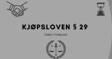 Kjøpsloven § 29