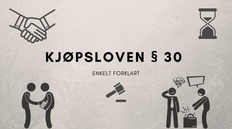 Kjøpsloven § 30