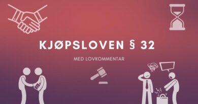 Kjøpsloven § 32