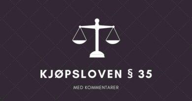 Kjøpsloven § 35