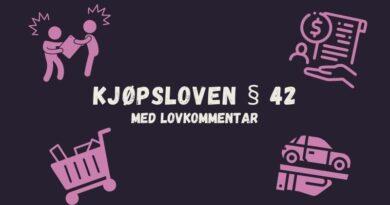 Kjøpsloven § 42