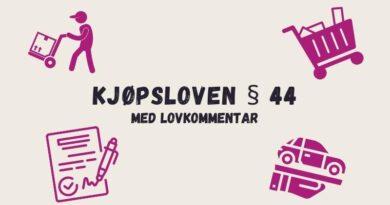 Kjøpsloven § 44