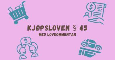 Kjøpsloven § 45