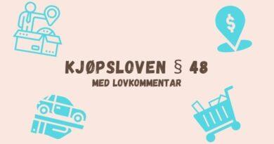 Kjøpsloven § 48