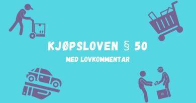 Kjøpsloven § 50