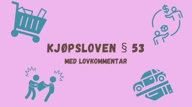 Kjøpsloven § 53
