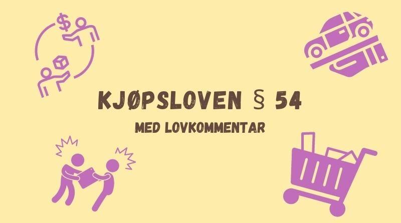 Kjøpsloven § 54