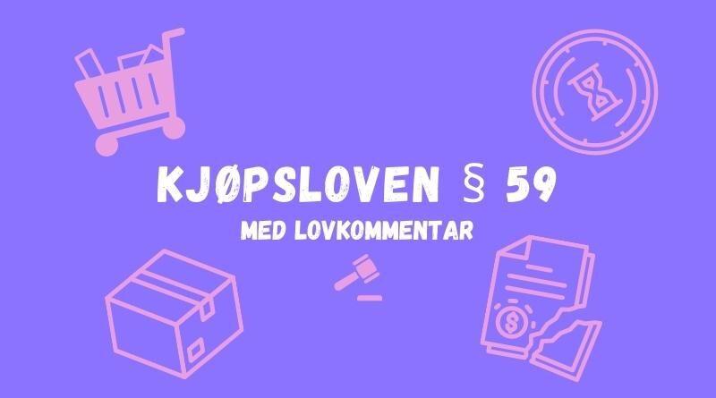 Kjøpsloven § 59
