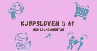 Kjøpsloven § 61