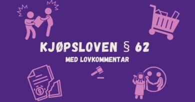 Kjøpsloven § 62