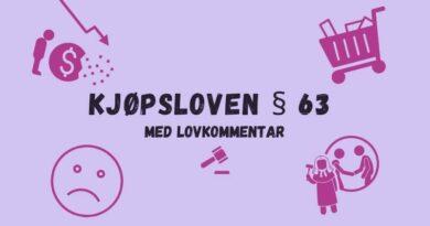 Kjøpsloven § 63