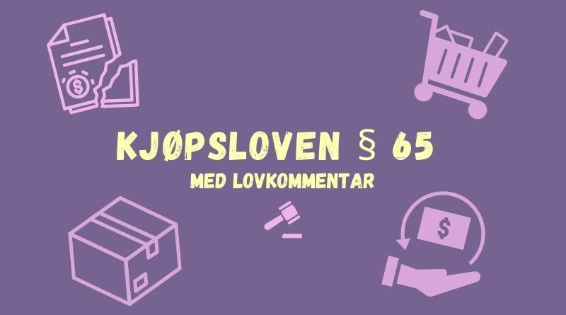 Kjøpsloven § 65