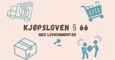 Kjøpsloven § 66