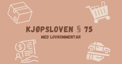 Kjøpsloven § 75