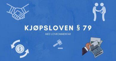 Kjøpsloven § 79