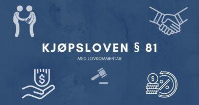 Kjøpsloven § 81