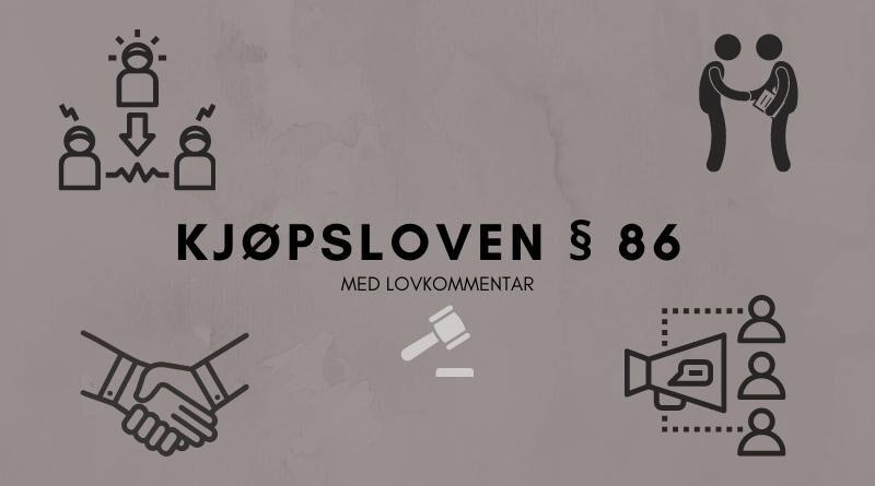 Kjøpsloven § 86