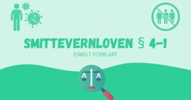 Smittevernloven § 4-1