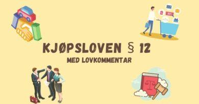 Kjøpsloven § 12