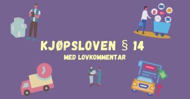 Kjøpsloven § 14