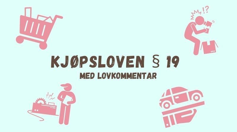 Kjøpsloven § 19