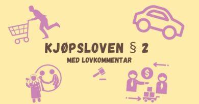 Kjøpsloven § 2