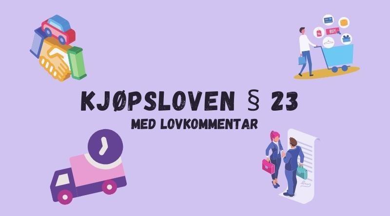 Kjøpsloven § 23