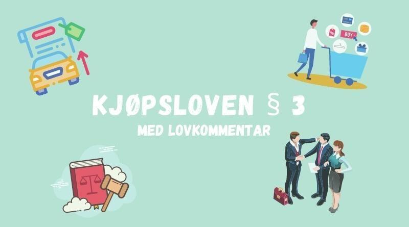 Kjøpsloven § 3