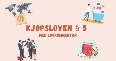 Kjøpsloven § 5
