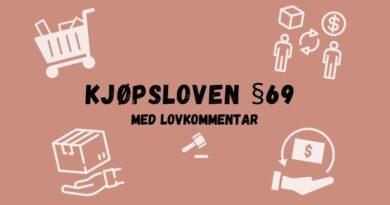 Kjøpsloven § 69