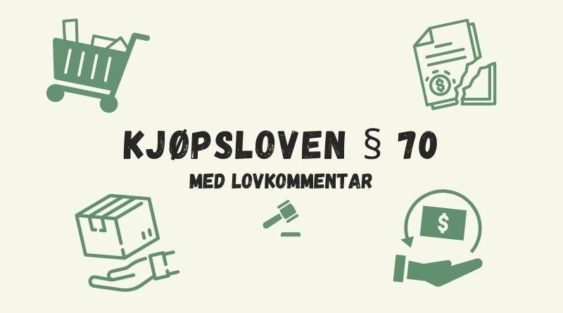 Kjøpsloven § 70