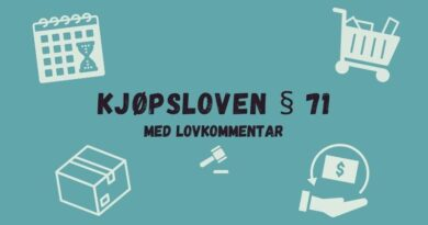 Kjøpsloven § 71